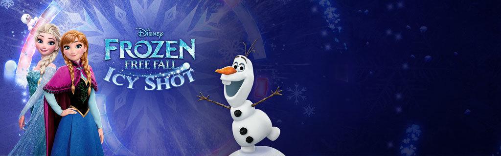 UK - Homepage - Frozen Icy Shot App