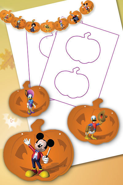 Mickey Mouse Clubhouse Halloween Bunting