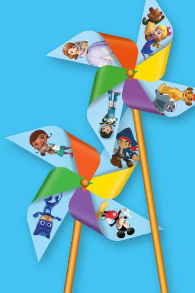 Disney Junior Pinwheels