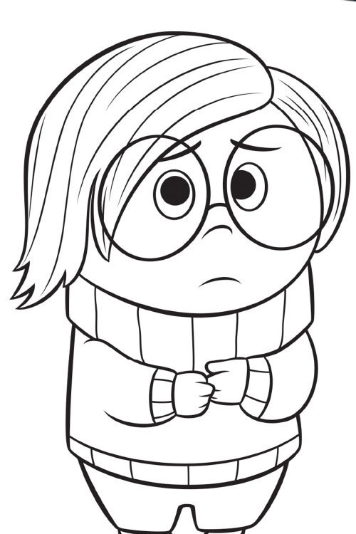 Disney Pixar Coloring Pages Inside Out : Inside out fun kids activities colouring in