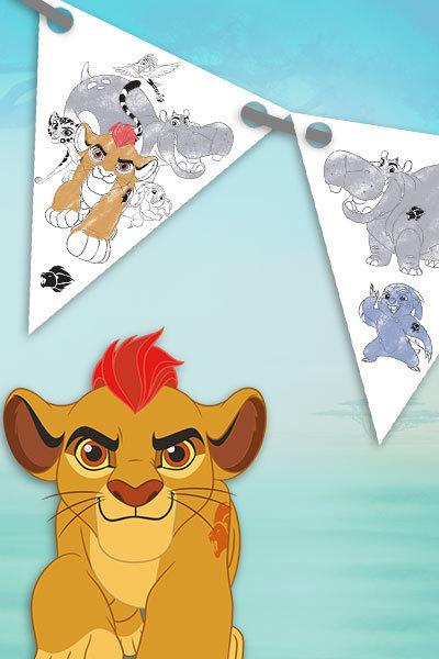 Die Garde der Löwen - Partygirlande