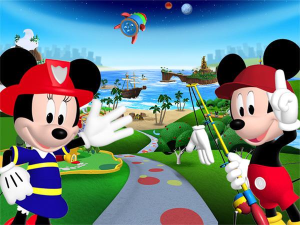 Mickys und Minnies Welt
