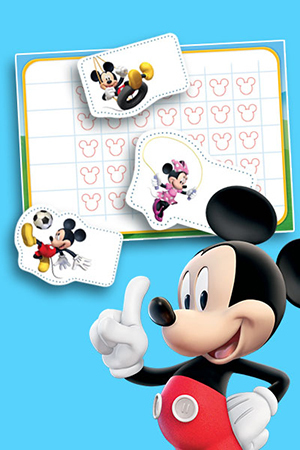 Mickey Mouse's Activity Chart