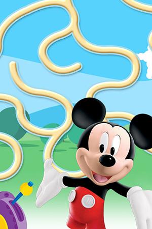 Mickey's Maze