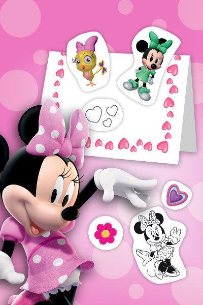 Carte Fête des Mères Minnie