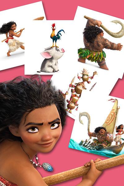 Jeu de Mémory Vaiana et Maui