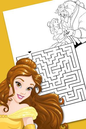Belle's Maze