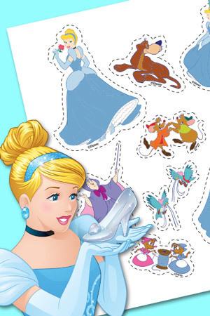 Aufkleber von Cinderella