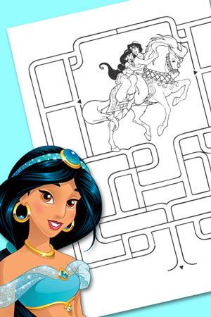 Jasmine's Maze