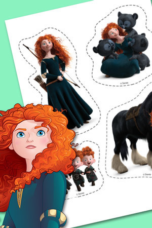 Merida Stickers