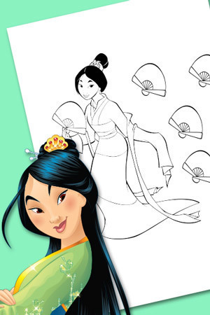 Mulan Count The Fans