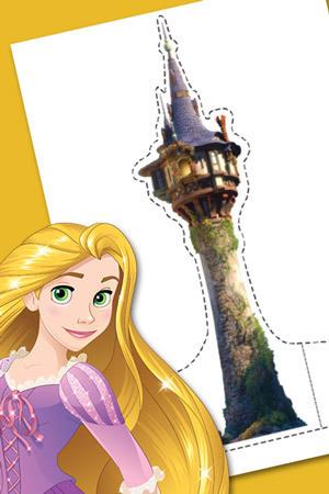 Rapunzel Playset