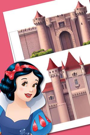 Snow White Playset
