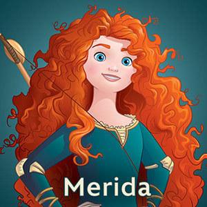 Vidéos Merida - Les Princesses Disney