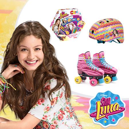 Tentez de gagner des patins à roulettes et pleins d'accessoires Soy Luna !