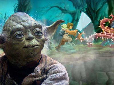 Yoda's Jedi Training - Star Wars Arcade