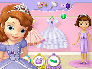 Princesse Sofia : Robe d'anniversaire  Jouez gratuitement à des jeux en ligne