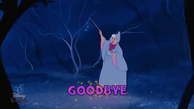 Chansons Disney English - Good Bye