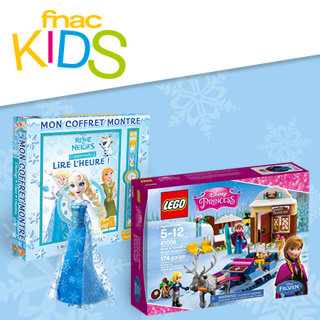 D'incroyables cadeaux de La Reine des Neiges à gagner !