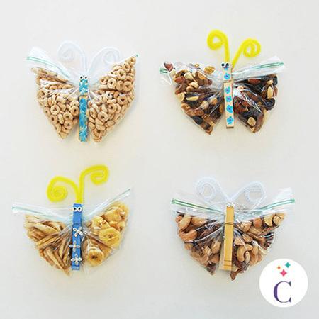 Les collations papillon de Cendrillon