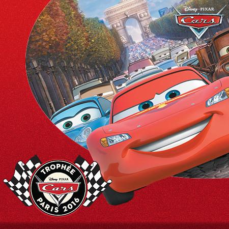 2 places pour la première course Cars sur les Champs Elysées à gagner