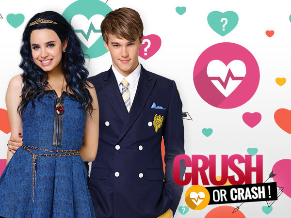 Fais le test Crush or Crash Descendants !