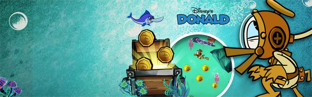 Donald Duck Treasure Frenzy aout16 (hero)