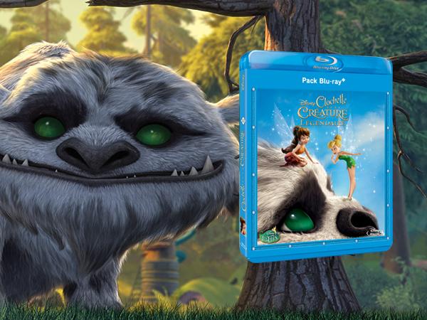 Clochette et la créature légendaire en DVD et Blu-Ray