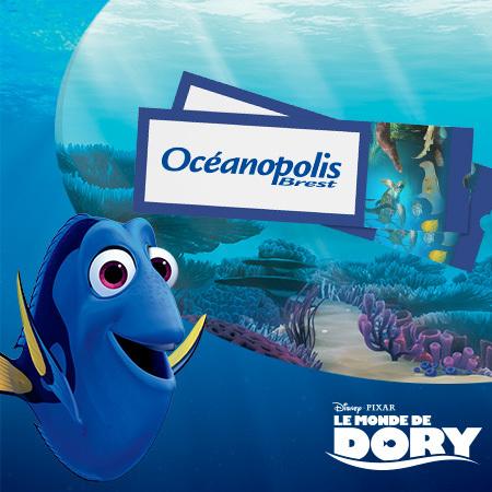 Des entrées pour Océanopolis, parc de découverte des océans et pleins d'autres cadeaux à gagner !