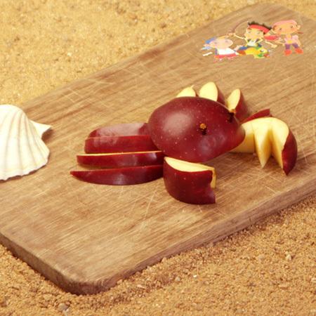 Pomme crabe de Jake et les Pirates du Pays Imaginaire