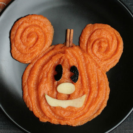 Compote Halloween de Mickey