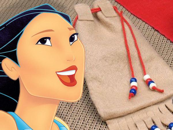 Pocahontas - Ton sac en feutrine