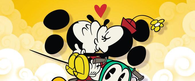 Le Top 4 des bisous de Mickey & Minnie
