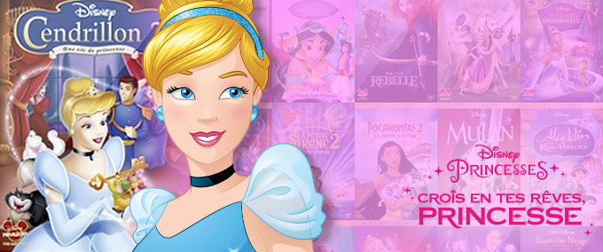 Les princesses Disney en Blu-Ray et DVD