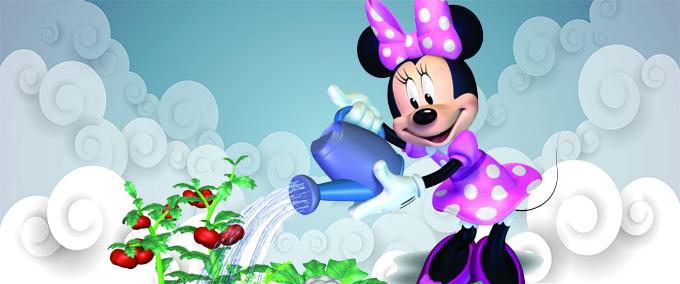 Jouez au puzzle avec Minnie à la ferme !