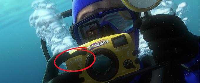 A113 dans les films Disney.Pixar