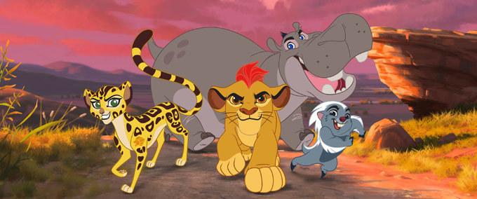 Quel personnage de La Garde du Roi Lion es-tu ?