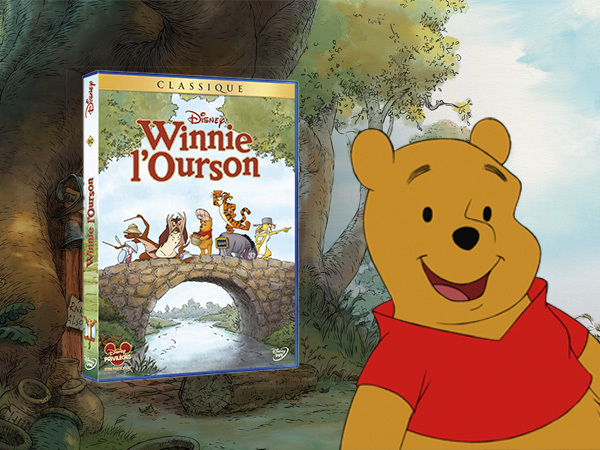 DVD Winnie l'Ourson