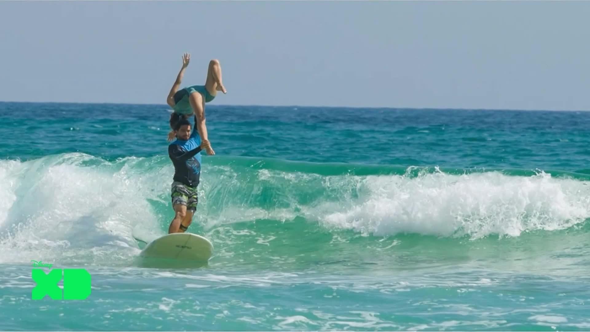 Disney XD Sport News - Biscarosse : Surf Tandem