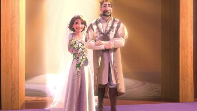 Raiponce histoire de la princesse raiponce coloriage - Le mariage de raiponse ...