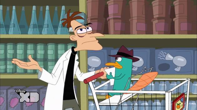 Awkward Doof and Perry Moment