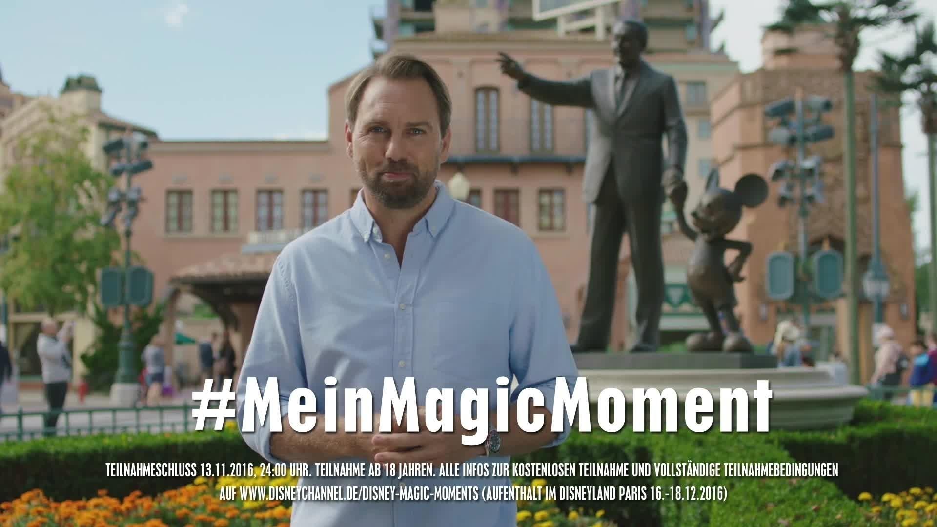 Magic Moments - Gewinnspiel Disneyland Paris