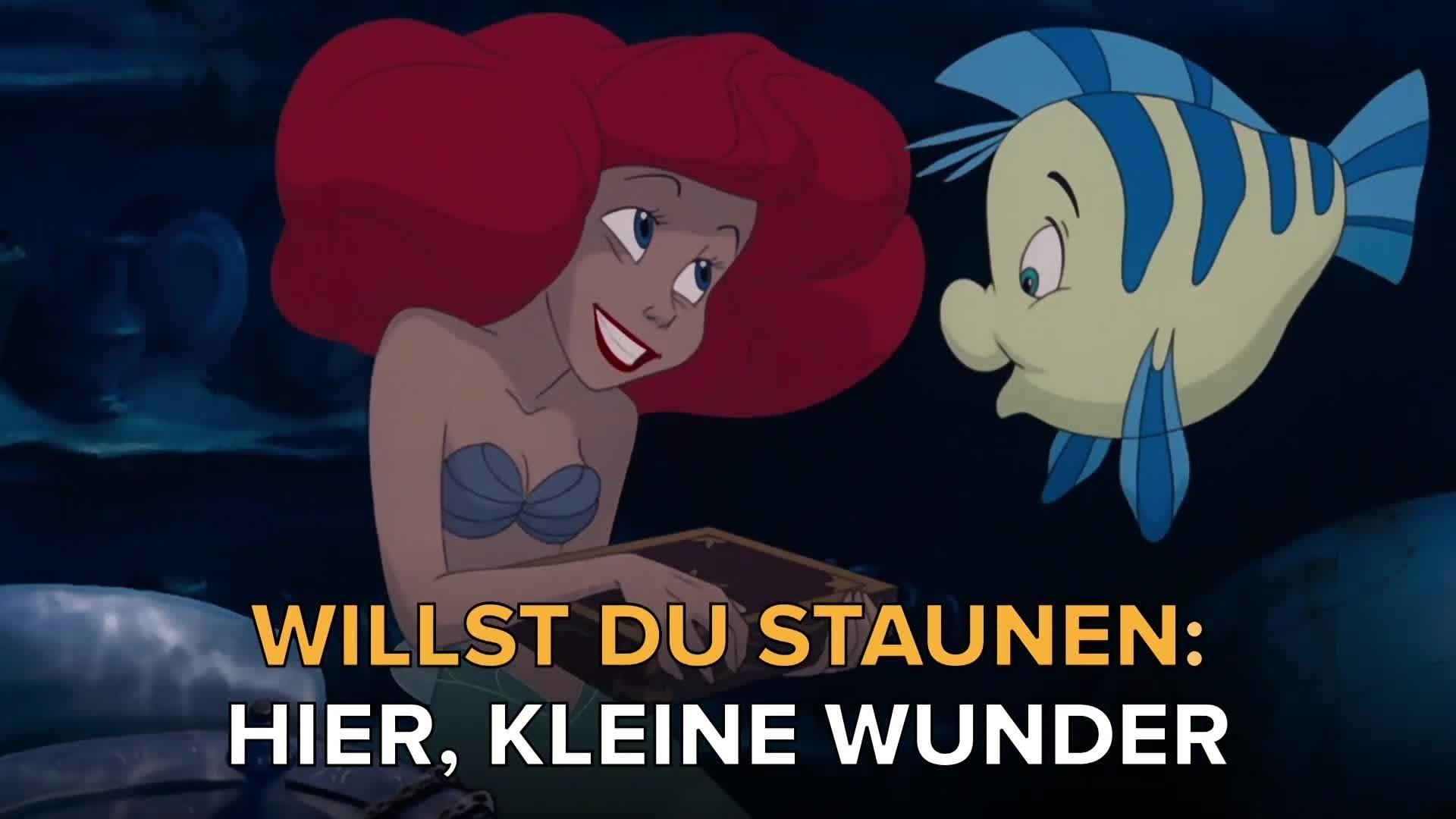 Arielle, die Meerjungfrau - Lied zum Mitsingen