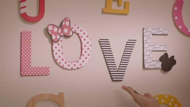 Minnie Fashion – Buchstaben