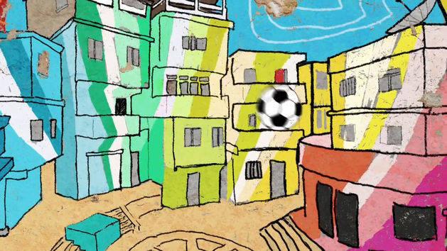 Fußball WM 2014 - Disney XD - Favela