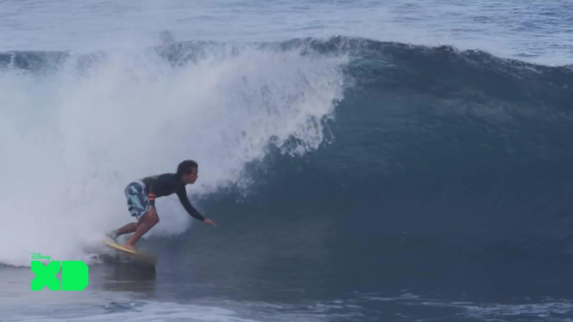 Disney XD Sport News - Windsurf : Naish / Lenny