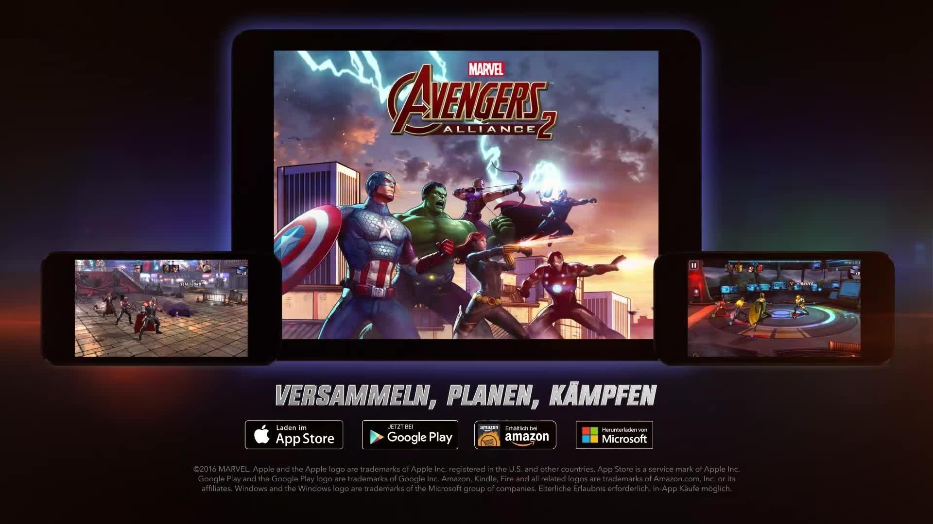 Marvel: Avengers Alliance 2 - Trailer