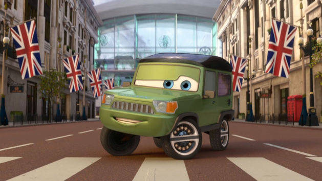 Cars 2 - Musikvideo - Collision of Worlds