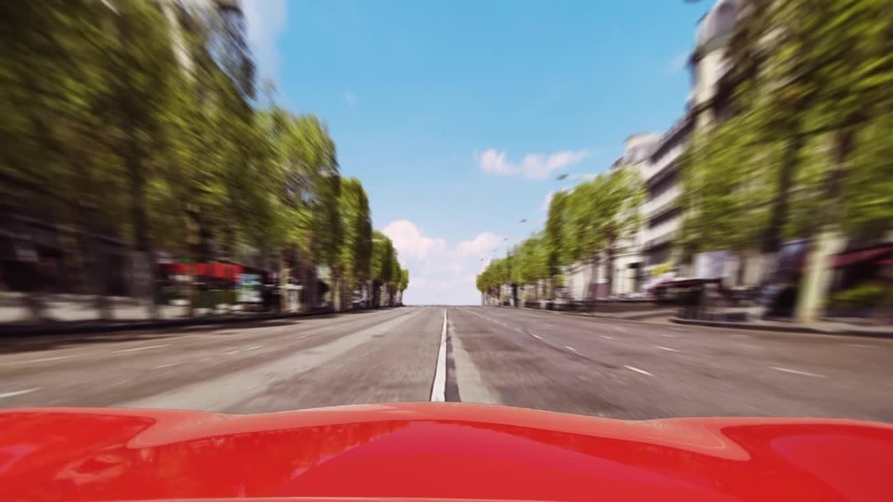 Trophée Cars sur les Champs Elysées !