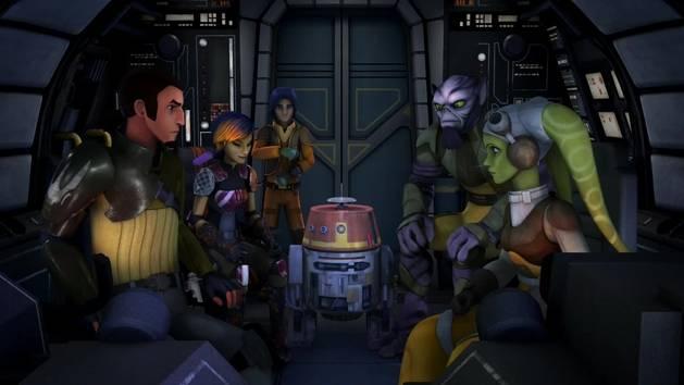 Star Wars Rebels - Story